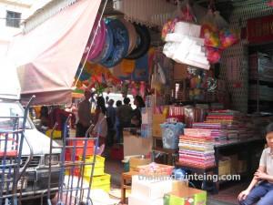 Bangkok Chinatown Yaowarat wholesalers