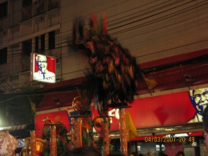 Lion Dance and Khao San road Bangkok