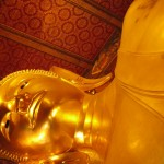 Wat Pho  วัดโพธิ์ in Bangkok- longest reclining Buddha