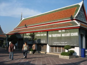 Wat Pho Massage school