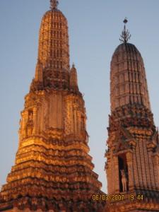 Wat Arun Bangkok view at night