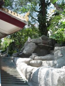 Wat Saket Temple of the Golden Mount in Bangkok