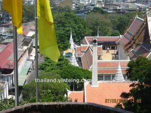Bangkok scenery from Wat Saket