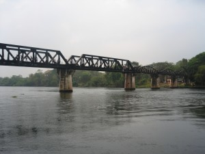 Bridge of River Kwai Kanchanapuri