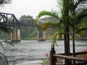 Bridge of River Kwai Kanchanapuri