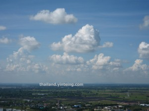 cloud formations Thailand
