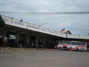 Phayao town bus station