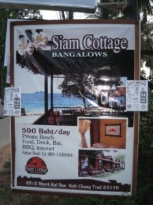 Siam Cottage Koh Chang island Thailand