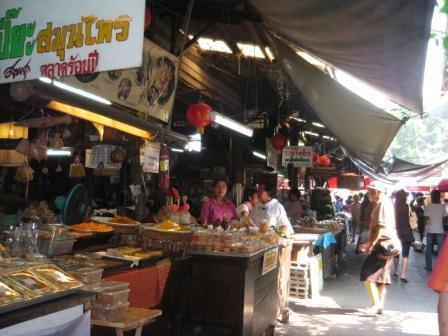100 year old Market in Suphan Buri, Thailand ตลาดสามชุกริมน้ำร้อยปี