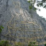 Carved Buddha Image of Khao Chi Chan เขาชีจรรย์, Chon Buri