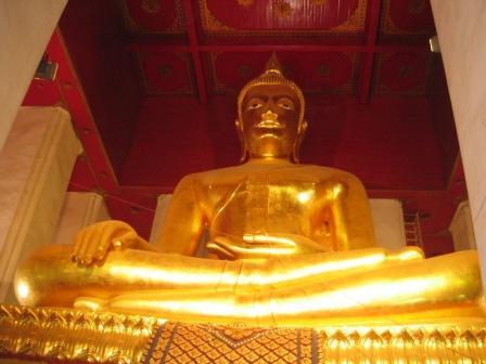 Phra Mongkhon Bophit พระมงคลบพิตร in Ayutthaya
