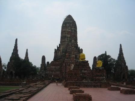 Wat Chai Watthanaram in Ayutthaya วัดไชยวัฒนาราม อยุธยา
