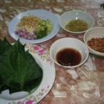My favourite: Mieng Kham เมี่ยงคำ (Thai version of sireh)