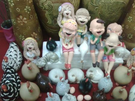 Lampang ลำปาง is well known for its ceramic wares and crafts