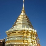 Doi Suthep ดอยสุเทพ Chiang Mai- beautiful Chedi & flower gardens