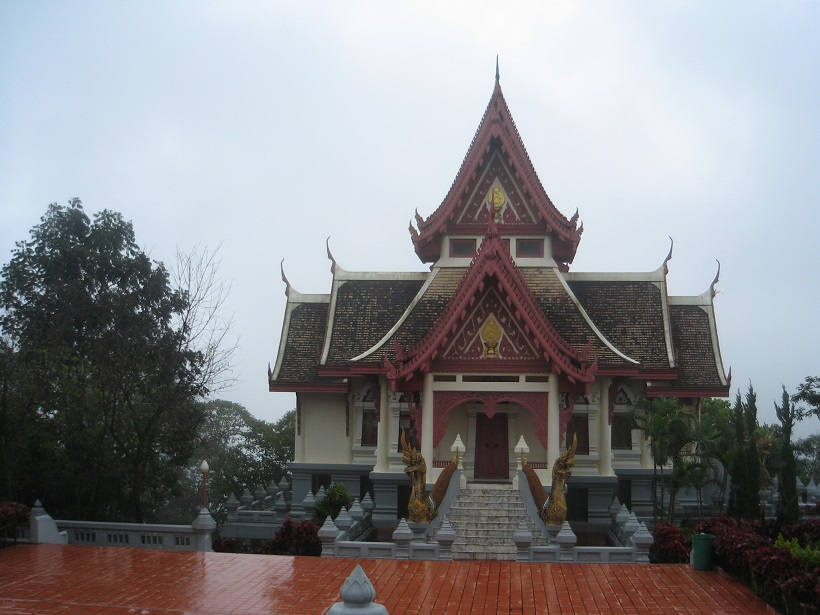 Temple at Mae Salong
