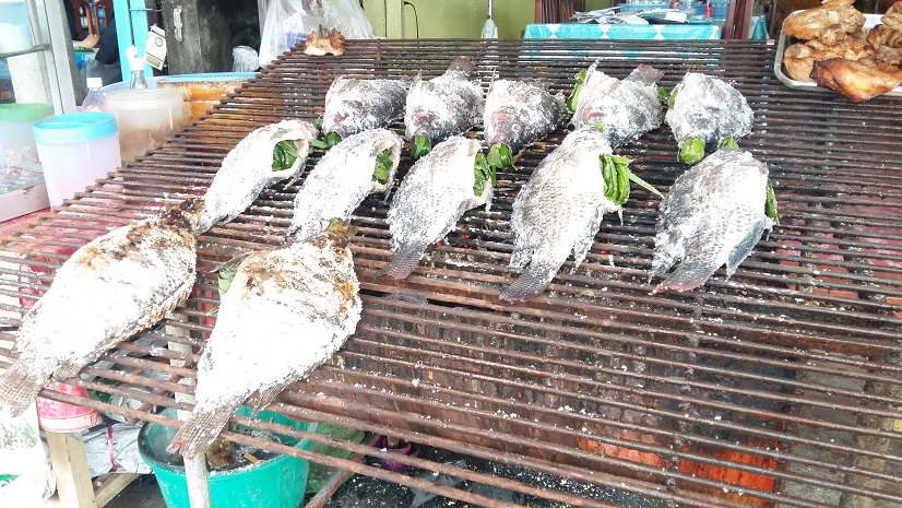 Phayao grilled fish