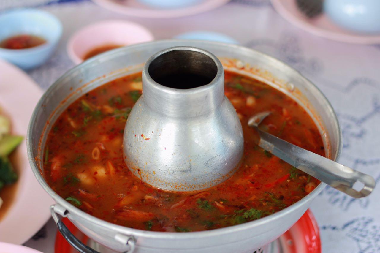 Tom yam Thai dish