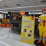 Don Meung airport- parking and eating places