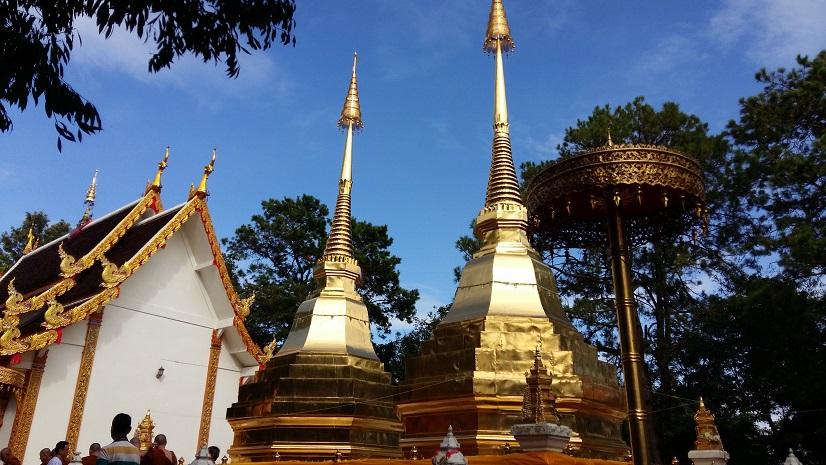 Wat Phra That Doi Tung Thailand วัดพระธาตุดอยตุง