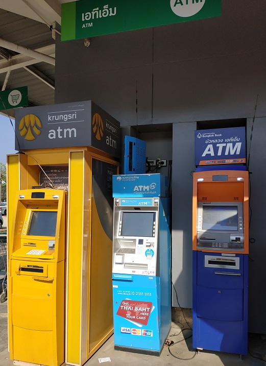 ATM machines in Thailand