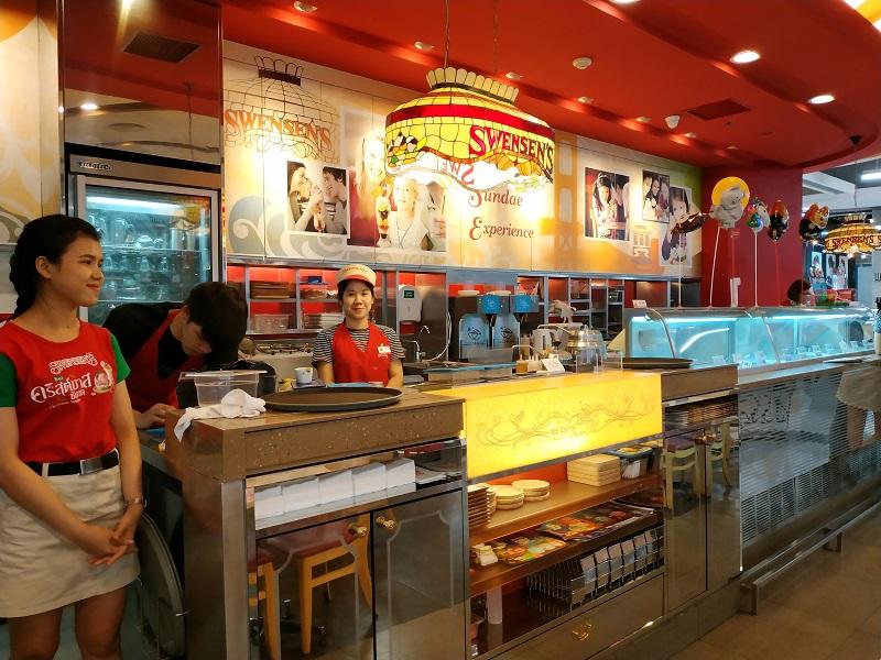 Swenson's Restaurant in Thailand