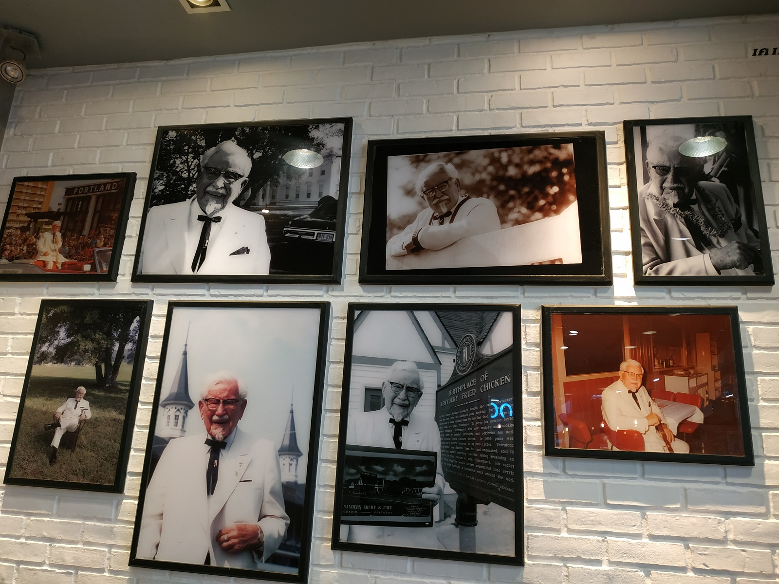KFC Colonel Sanders real pictures
