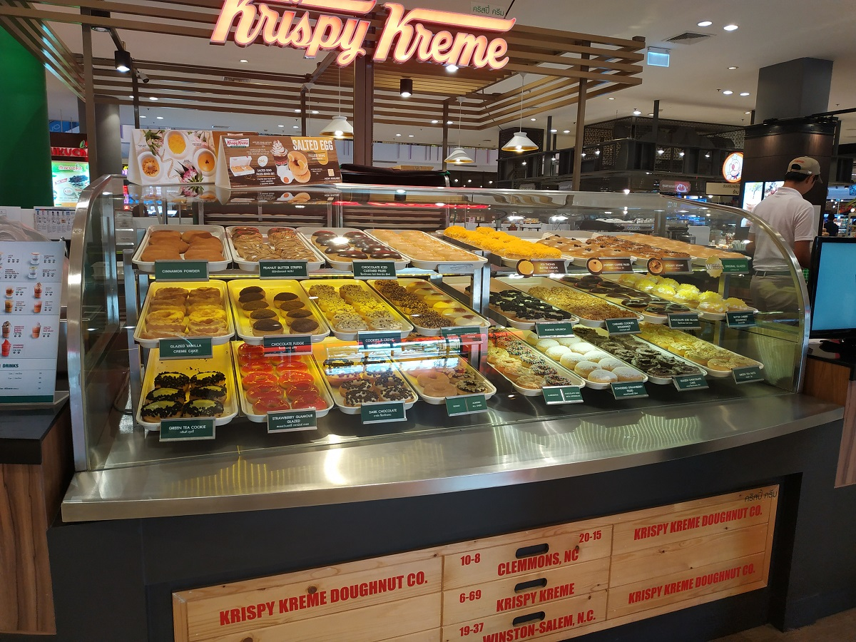 Krispy Kreme Doughnuts in Thailand