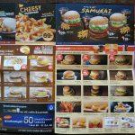 McDonalds Delivery Service Menu in Thailand