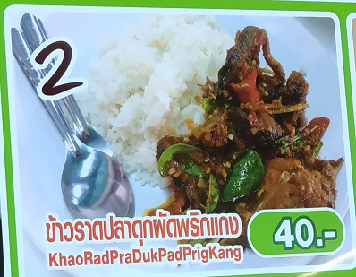 Common Thai dishes that goes with rice