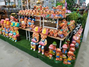 Outdoor and home decorative items at DoHome Thailand