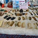 Guadsa tools made from yak horns and stones