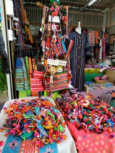Hill tribes craft in Thailand