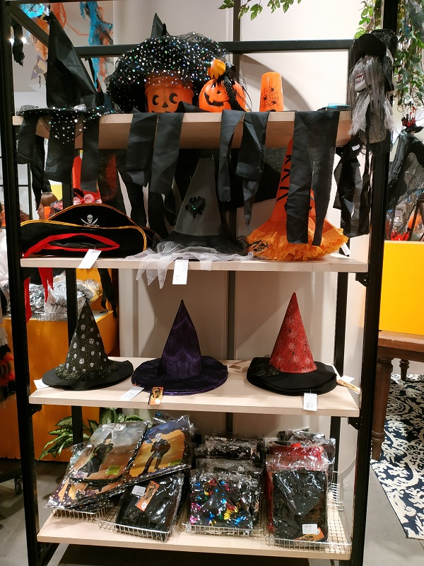 Halloween deco in Central Shopping complex