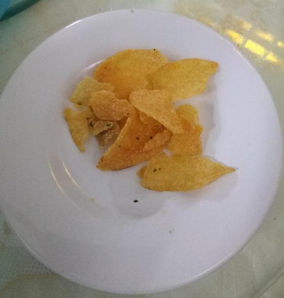Irvin salted egg potato chips