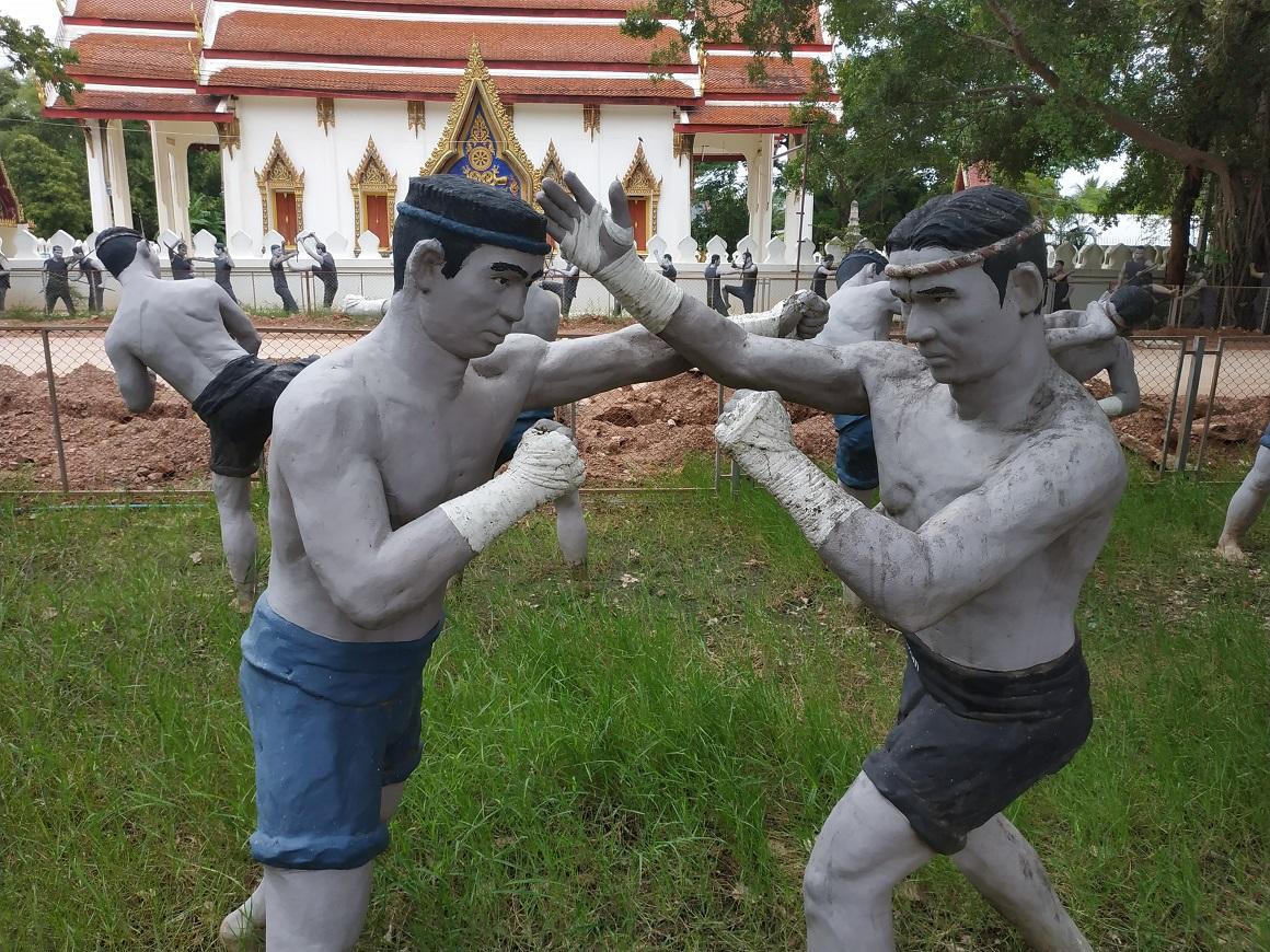 Wat Bangkung Samut Songkram near Amphawa