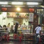 Delicious kway chap in Bangkok Chinatown (Nai Eik Roll Noodle)
