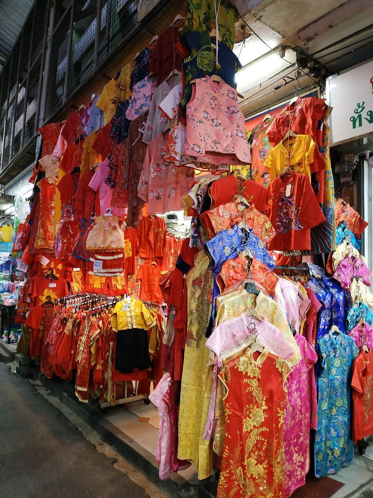 CNY clothing in Thailand