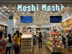Moshi Moshi stores in Thailand