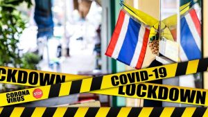 Lockdown in Thailand and news