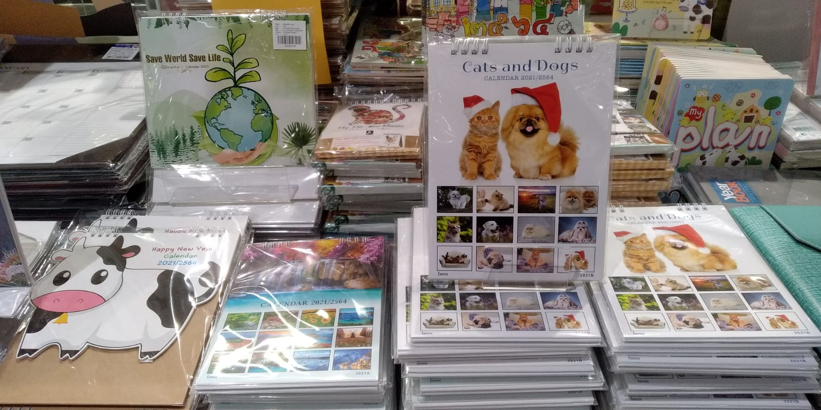 Thailand Calendar 2021- on sale and from banks