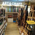 Arts and Crafts supplies in B2S bookstores