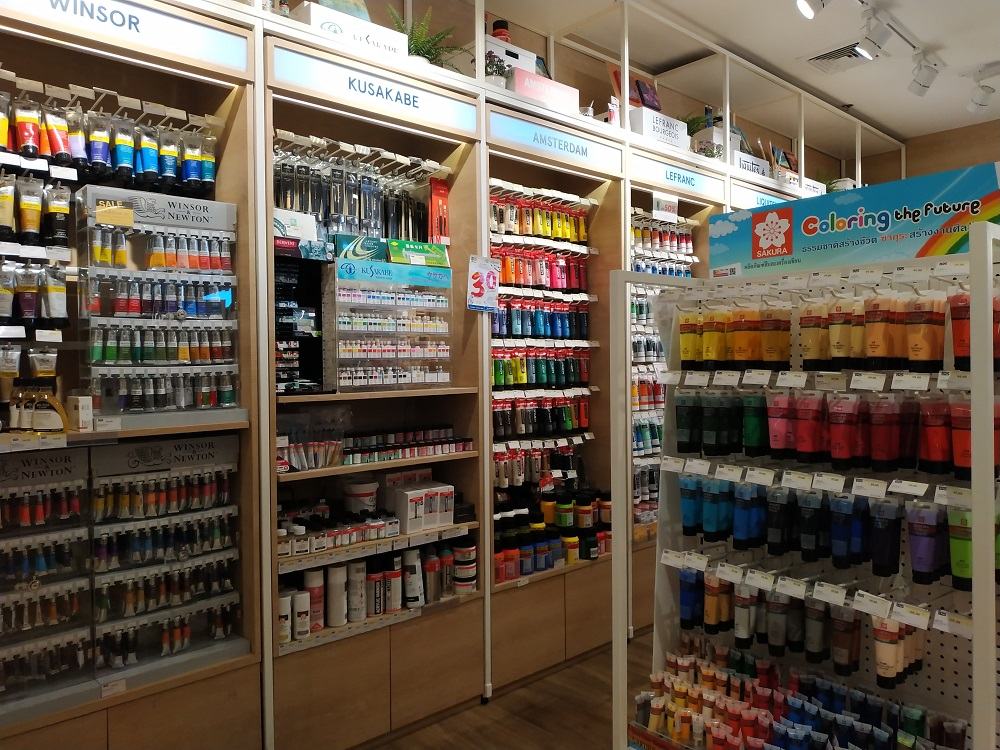 painting and colours for art in Thailand