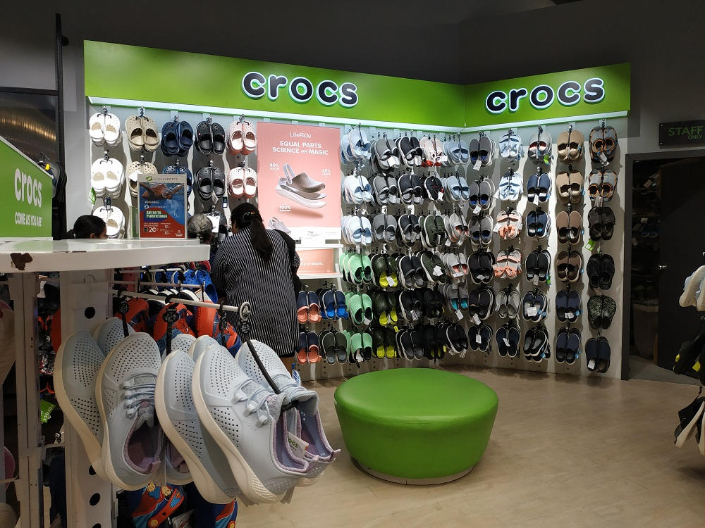 Crocs store in Central Shopping Complex