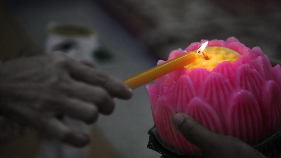 Self Practice during Wesak (Visakha) Day